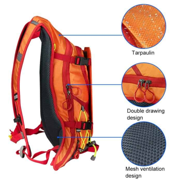 Solar Panel Backpack Travel Solar Charger