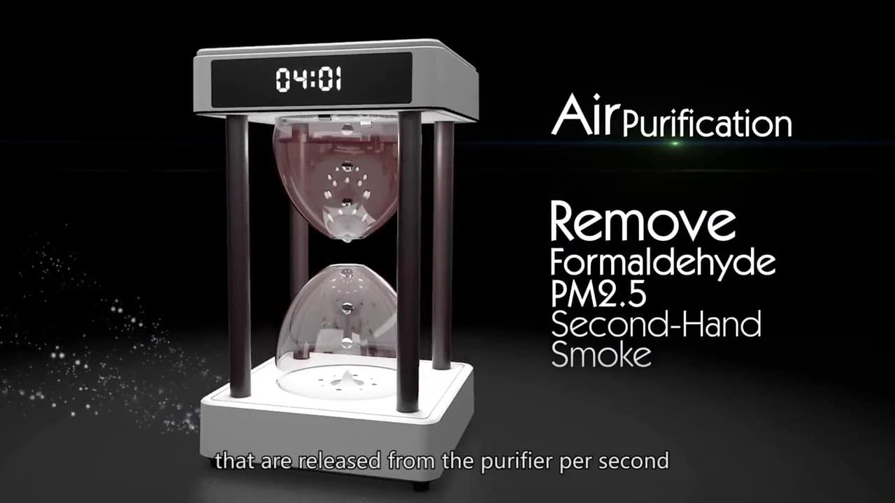 Anti0gravity air purifier